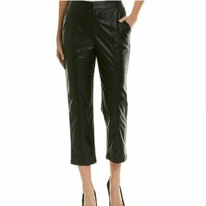 1.State Faux Leather Crop Pants.